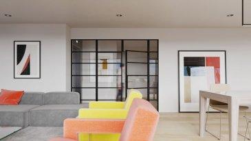 Vous pouvez dès maintenant réserver votre appartement de rêve dans cette résidence !  Appartement (2-4 chambres) 142,88m2 vendable avec  128.06m2 net habitable intérieur  +Balcons 30 m2  +Emplalcement intérieur   -+Ascenseur (privatif)   Actuellement, il est encore possible de changer les dispositions des intérieurs des appartements, c'est-à-dire tailles des différents pièces ( living/ chambres/SBD/SDD) etc !!!   En modulant l'appartement en 3 chambres on obtient: par exemple:  - Living-séjour-cuisine ouverte ou fermée à 42.8m2  - Hall d'entrée  - Débarras  - Wc séparé  - 1.Salle de douche  - 2.Salle de douche/bain  - Hall de nuit  - Chambre à coucher avec dressing 21.72m2  - Chambre à coucher à 15.66m2  - Chambre à coucher à 15.9m2  - Balcon 16.3 m2  - Balcon 13.8 m2  Cette dispositon peut encore être adaptée selon vos souhaits   En modulant l'appartement en 2 chambres on obtient: par exemple:  - Living-séjour-cuisine ouverte ou fermée à 63,3m2  - Hall d'entrée  - Débarras  - Wc séparé  - Salle de douche  - Salle de douche/bain  - Hall de nuit  - Chambre à coucher avec dressing 17.8m2  - Chambre à coucher avec dressing 20.5m2  - Balcon 16.3 m2  - Balcon 13.8 m2  Cette dispositon peut encore être adaptée selon vos souhaits   Tout sur un étage/plain pied   Possibilité de moduler l'appartement avec 4 chambres à coucher!   Vente en futur état d'achèvement (VEFA)  Les appartements/penthouses seront livrés 'clés en main'.  De nombreuses options et possibilités de personnalisation sont offertes pour chaque logement afin de permettre à chacun de définir l'ambiance, les couleurs ou encore les matériaux qui correspondent à ses envies.  L'ensemble de ces paramètres sont définis dans le cahier des charges de la construction, selon le type de logement envisagé.  Chaque lot dispose d'au moins une terrasse, d'un balcon et/ou d'un jardin privatif.  Spécifiés techniques :  - Ascenseur (privatif) - Ventilation contrôlée double flux - Chauffage au sol - Châssis PVC Triple vitrage - S