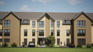 Neubau-Residenz Helfanter Insel In Palzem-Helfant nahe der Grenze Luxemburg. Hier entstehen 13 exklusive und schlüsselfertige Eigentumswohnungen mit Größen von ca. 100m² bis zu ca. 175m² Wohnfläche mit Balkon oder Terrasse, 13 Tiefgaragenstellplatz sowie 8 Aussenstellplätze. Alle Etagen von der Tiefgarage bis zu den Penthaus-Wohnungen sind über einen Aufzug erreichbar. Kfw 55 Effizienzhausbau dh Förderungen in Höhe von 26.000 € pro Wohnung. Jede Wohnung bekommt einen eigenen Kellerraum. Ein gemeinschaftlicher Wasch-Trockenraum ist auch vorgesehen. Gerne schicken wir Ihnen eine Baubeschreibung und alle weiteren Unterlagen zu und stehen Ihnen für weitere Informationen zur Verfügung.  Penthouse  Wohnung Nr 13 -Wohnfläche 150,50m2 -2 Schlafzimmer davon 1 mit Ankleide und Ausgang zur Dachterrasse 5,89m2 (Elternteil) -Wohn-Essraum mit Ausgang zur Dachterrasse 6,36m2 -Badezimmer -GästeWC -Abstellraum