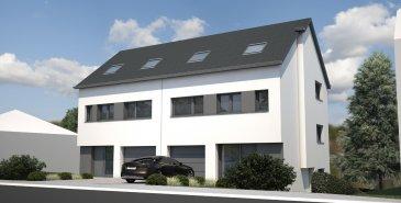 *** NOUVEAUTE HT IMMOBILIER ***   Découvrez au cœur du village de Trintange, votre futur projet immobilier !  Une maisons unifamiliale de plus de 186 m², sur une surface de terrain de 3,81 ares. Elle est composée comme suit : - au rdc, d'un garage une voiture, d'un hall d'entrée, d'un wc séparé et d'une pièce de vie de plus de 40 m² donnant sur une terrasse de 22,50 m². - au 1er étage, de trois chambres (dont une avec dressing privatif) et de deux salles de douche avec wc. - au 2ème étage, les combles sont aménageables d'une surface de +/- 30 m²  Informations et documentations au 24 55 92 78 ou par mail : info@htimmo.lu.