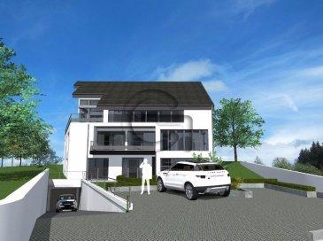 Nouvelle construction de la résidence ELLA composée de 5 unités et située à NOSPELT  Appartement numéro 3 au 1er étage Surface habitable 102,80 m2 + terrasse 8,42 m2  L'appartement comprend un hall d'entrée, living de 38 m2 avec cuisine ouverte, 3 chambres à coucher, un dressing, une salle de bain, une salle de douche et une terrasse.  Classe énergétique B/B, triple vitrage, chauffage au sol, ascenseur et cave.  Le prix affiché comprend un taux de TVA super-réduit de 3% (en cas d'affectation du bien à des fins d'habitation principale) et un emplacement de parking.   Information et documentation : Mme Nassim TOLOUI Tél. : 691 120 478 Email : info@parkagence.lu