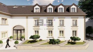 ***NOUVEAU PROJET RÉSIDENTIEL***  A.S. Real Estate vous propose en état de futur achèvement, un nouveau projet résidentiel de caractère et de haut-standing