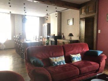 MAISON 5 - DOMGERMAIN. Coup de coeur ! Découvrez cette très jolie maison entièrement rénovée et avec goût.Vous profiterez au RDC, d'une entrée avec rangements, d'un vaste séjour (43m²) avec parquets massifs et cheminée, d'une vaste cuisine dinatoire équipée et donnant accès à une jolie cour intimiste, d'une suite parentale avec salle de douche ( douche à l'italienne ), d'un WC séparé.A l'étage, vous trouverez 3 belles chambres avec rangements, ainsi qu'une salle de bains+ douche.Celle ci dispose également d'un vaste comble qu'il vous sera possible d'aménager ( 142m² ), d'un garage où vous pourrez stationner plusieurs véhicules, d'une buanderie aménagée, ainsi que d'une grande cave. Vous profiterez également d'un joli jardin situé à quelques mètres de la maison, dans lequel vous pourrez recevoir vos amis jardiner etc ...Vous serez séduit par les volumes qu'offre cette maison ainsi que par ses matériaux de qualités et n'aurez plus qu'à y poser vos meubles.Prix: 169 000 euros FAI, frais d'agence à la charge du vendeur.- barème honoraires : www.tfimmo.com /nos-honoraires.php - Contact : 06.68.08.05.71 - egerardin.tfimmo@gmail.com