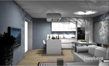 Newkeys vous propose une nouvelle construction à Luxembourg-Hamm. Un APPARTEMENT de 2 CHAMBRES situé au 1er étage avec ascenseur dans immeuble résidentiel regroupant 15 de logements exceptionnels (Unité 105/ Résidence SUMMERHILL).  Cet appartement de standing d'une surface pondérée de 84,81 m2 (surface habitable intérieur 82,53 m2 + 40% de la surface du balcon) se présente de la manière suivante:  - Hall d'entrée  - Living et espace cuisine de 29,10 m2  - Salle de douche (douche à l'italienne, double lavabo, WC et bidet). - 2 chambres (15,52m2 et 14,62m2) - WC séparé  - Débarras avec raccordement pour machine à laver  - Balcon d'environ 5,70 m2 (orientation SW) - Cave privative - Emplacement de parking intérieur   Prestations de qualités: triple vitrage isolant, ventilation double flux et chauffage au sol avec contrôle de la température ambiante par zone via un thermostat.  Proche de toutes les commodités, vous profiterez d'un cadre verdoyant dans une résidence disposant d'un ascenseur, d'un système de vidéophone, raccordement satellitaire, fibre optique, d'une buanderie commune et d'un séchoir collectif.   Prix: 670.000 TVA 3%  Prix: 720.000 TVA 17%  Disponibilité: mars/avril 2019   Pour plus d'informations, plans et cahiers des charges, contactez-nous : 661 120 388 ou par email à l'adresse info@newkeys.lu