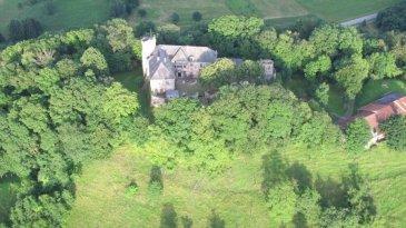 Château en nid d'aigle à 307 mètres d'altitude, bâti sur un terrain de  19.90 ha il possède 30 pièces d'une surface de 1163 m2, il est non classé, peut par conséquent faire l'objet de travaux et être exploité de suite. L'immeuble n'est pas soumis au droit de préemption de la SAFER. Il possède également une chapelle, une étable de 200 m2 une grotte de Lourdes et possède des arbres centenaires. Le château se prête à de nombreuses manifestations telles que restaurant, hôtel, chambres d'hôtes, séminaires, chevaux. Pour plus de renseignements et photos veuillez nous contacter