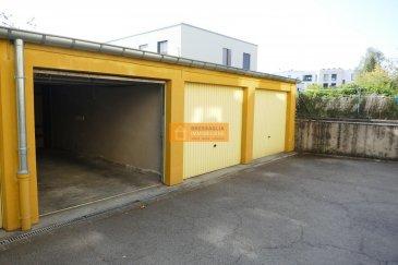 Garage-box à louer au Limpertsberg dans la rue Ermesinde à proximité du centre de la Ville de Luxembourg.   Ref agence : 226
