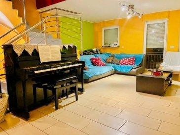 RE/MAX Partners vous propose cette belle maison de 2008, proche du centre de Rumelange et des commerces. Grand parking gratuit en face.  La maison se compose de :  - 4 chambres (voir plus avec quelques aménagements) - une cuisine équipée, - un salon/salle à manger, - une salle de douche, une salle de bains, - wc - une spacieuse terrasse d'environ 30 m², - un petit jardin de 30 m2 environ, - garage 2 voitures.   Pour plus d'informations veuillez contacter Mr. Dias au  691691515 Ref agence :5096188
