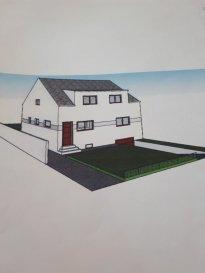 Belle maison mitoyenne un côté à vendre actuellement en rénovation mise à disposition prévue fin Août  d'une surface de 112 m2 comprenant au RDC une entrée, une grande pièce à vivre, une cuisine, un WC. A l'étage 3 chambres et une salle de bains, une cave, un garage terrain de 24.44 ares. Photos et renseignements supplémentaires sur demande