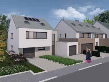 MAISON RÉSERVÉE  Magnifique maison individuelle de 4 chambres à coucher, d'une surface habitable de 208,72m² en future construction, sur un beau terrain de 5ares49ca, dans le nouveau lotissement