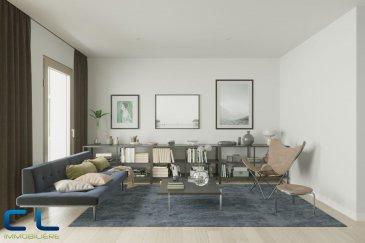 Nous vous proposons à la vente dans le nouveau projet  immobilier de standing « Place Benelux » : Une maison de 148m2 dont 135,44m2 habitables.  Au sous-sol : - Un box fermé avec accès privatif - une cave Au rez-de-chaussée : - Des jardins privatifs - Une grande terrasse avec un accès au jardin - Un WC séparé - Une cuisine ouverte - Un grand living  Au premier étage : - Deux chambres à coucher - Deux salles de bain  - Une chambre à coucher Au deuxième étage : - Une salle de bain - Une terrasse de +/- 5 m2   Ce nouveau projet  à l\'architecture contemporaine est constitué de 5 maisons en bande, d\'une résidence de 6 appartements et d\'un local commercial.  Il est idéalement situé à la Place Benelux, dans le quartier résidentiel d\'Esch nord, quartier calme et accueillant, qui possède encore de petits magasins de proximité, d\'autres infrastructures (telles que piscine, école, crèches, hôpital \') ou services (poste, banques etc), se trouvent aussi dans ce quartier. Les transports en commun ainsi que l\'autoroute A 4 se trouvent à quelques mètres.  A 5 minutes en voiture du site Belval.  Les prix indiqués comprennent la TVA à hauteur de 3%, il y a la possibilité d\'acheter en supplément des emplacements de parking intérieurs.  N\'hésitez pas à nous contacter pour de plus amples renseignements, les plans et cahier de charges sont à votre disposition sur  simple demande.  Commission d\'agence comprise dans le prix à la charge du vendeur.   Ref agence : EACVB69-79-M2