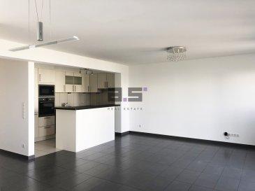 A.S. Real Estate vous propose un bel appartement de +/- 79m² avec balcon situé au premier étage d'une résidence de sept logements, à proximité de toutes commodités, à 20 mètres d'un arrêt de bus et à 15 minutes à pied du centre et de la gare de Schifflange.  Celui-ci se compose d'un hall d'entrée doté d'une porte d'entrée de sécurité, d'une cuisine entièrement équipée de +/- 7.50m² ouverte sur un living de +/- 30m² avec accès à un balcon de +/- 6.50m², d'une chambre de +/- 14.80m² avec un grand placard intégré et une seconde de +/- 10m², d'une salle de douche de +/- 4m² équipée d'une cabine de douche, d'une vasque avec rangement à tiroir, d'un w.c et d'un w.c séparé aménagé d'un placard.  Ce bien est complété d'une grande cave de +/- 7m² et d'un grand garage fermé avec porte motorisée de +/- 20m² .  Pour de plus amples informations ou pour convenir d'une visite, n'hésitez pas à nous contacter au (+352) 621 274 674 / 2776 4776 ou par email à info@as-estate.lu.