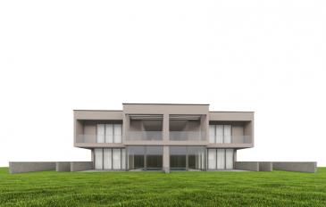 DALPA S.A. a le plaisir de vous présenter en vente cette magnifique maison jumelée de luxe à 4 chambres à coucher plus 1 bureau, avec piscine, hammam avec douche sur un terrain de +/- 8,71 ares. La maison est vendue avec contrat de construction incluant des matériaux nobles et des finitions de haute qualité.   La maison dispose d'une surface net habitable de +/- 185m² sur un total d'une surface brute de +/- 340m² (dont +/- 57m² de terrasse & balcons) et jardin exposé plein sud-est, offrant une vue dégagée.  La maison se compose comme suit :   Au sous-sol : -Divers locaux techniques de +/- 18m² -Cave  -Local poubelle -Buanderie -Grand garage de +/- 30m²  Au RDC :  -Piscine & hammam intérieur avec accès direct sur la terrasse  -Débarras -WC séparé -Bureau  -Cuisine  -Séjour avec accès direct sur la terrasse/jardin  À l'étage :  -Une spacieuse chambre parentale avec une SDD disposant d'une double douche, et avec accès sur un balcon privatif -Une chambre avec une salle de douche -Deux chambres à coucher  -Une salle de bain avec baignoire et douche -Une vaste terrasse de +/- 38m²   Le quartier de Garnich est recherché pour son calme et sa haute qualité de vie familiale avec des crèches, école fondamentale à proximité et à +/- 20 minutes du centre-ville.    Les prix sont indiqués avec TVA 3% sous réserve d'acceptation par l'administration de l'enregistrement.  Des modifications des plans sont possibles.  Nous sommes à votre entière disposition pour tous renseignements complémentaires et documentation. Veuillez contacter Antonio Lobefaro sous le numéro +352 621 191 467 ou par mail sur info@dalpa.lu   Si vous souhaitez vendre ou louer votre bien, nous mettons à votre disposition notre professionnalisme, savoir-faire ainsi que notre qualité de service. Nous vous proposons des estimations rapides, gratuites et réalistes  (images non contractuelles)  ENGLISH VERSION  DALPA S.A. is pleased to present for sale this magnificent luxury semi-detached house with 4 bedrooms, 1 office