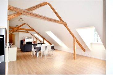 RE/MAX, spécialiste de l\'immobilier au Luxembourg vous proposes à la vente ce magnifique appartement d\'exception situé comme unité unique dans un bâtiment, sans ascenseur.   D\'un surface habitable de 92 m2, il est d\'une surface totale de 110 m2.  Aucun travaux ne sont à prévoir.   La commission d\'agence est incluse dans le prix de vente et elle est supportée par la partie venderesse.<br>