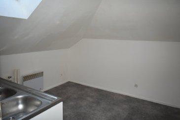 Dans un immeuble de caractère Appartement T2..  Appartement T2 de 25m2 Carrez au 2ème et dernier étage comprenant : une cuisine, une chambre et une salle de bains, WC. Parfait état idéal Investisseurs !!!