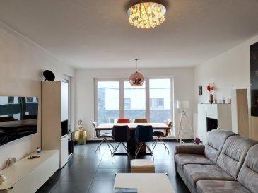 Langlais&Langlais Real Estate ont le plaisir de vous proposer en vente exclusive un appartement de 87,41 mètres carrés sis au quatrième et avant-dernier étage de la Résidence de standing Morgan(Un projet  moderne Architectes Steinmetz Demeyer/ Giorgietti).  Donnant sur l'arrière et au calme, ce lumineux appartement est disposé de la façon suivante:  L'entrée donne sur deux belles chambres à coucher(15,05m2 et 13,57m2 dont une avec accès terrasse(8,034 m2). Belle salle de bain(7,36m2) avec douche italienne, WC et branchement machine à laver) Le living(30,057m2) donnant sur la terrasse comprend une cuisine ouverte(8,66m2) hyper-équipée avec cave à vin, équipements Siemens dont une machine à café Siemens intégrée. Un WC hôte de belle taille complète l'appartement.  -Emplacement de parking en sous-sol -Cave privative -Volets de type stores vénitiens externes électriques  Situé dans un quartier en plein essor avec l'expansion du Ban de Gasperich et la liaison directe vers Luxembourg-ville ou le Sud du pays, ce bel appartement offre une proximité avec tous les commerces et les transports publics. De haut standing, il est localisé au 4eme étage d'un immeuble de 5 étages avec ascenseur dont la vue donne sur l'arrière du bâtiment. Calme, moderne et possédant des équipements de haute qualité, cet appartement est habitable « clé en main », sans effectuer de travaux. Le quartier est au cœur de l'axe autoroutier de la Croix de Cessange qui permet de rejoindre les autoroutes A6 et A4 vers la Belgique, la France et l'Allemagne. Gasperich est un quartier idéalement situé pour les personnes qui souhaitent se déplacer vers le centre-ville ou dans la région, mais également vers les nouveaux quartiers et les nouvelles zones d'activité qui émergent au sud de la capitale. Qualité de vie très appréciable avec ou sans enfants !  ---------------------------------------------------------------  Langlais & Langlais Real Estate are pleased to propose exclusively for sale : Superb 87.41 square 