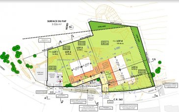 terrain a construire pour une maison unifamiliale Lot 5