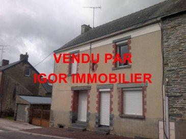 Maison  Jans. Faire offre. Proximité 4 voies, 30 minutes de Nantes dans un joli petit bourg<br/>Grande maison avec au RDC: cuisine, arrière cuisine, salon, salle à manger avec cheminée, WC, à l\'étage: 2 chambres de 22m² et 16m², SdE avec WC, terrain de 724m² et 2 garages. dont 8.13 % honoraires TTC à la charge de l\'acquéreur.