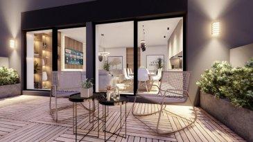 """Joli appartement lumineux dans une nouvelle résidence à 4 unités (transformation complète et agrandissement).  Achèvement deuxième trimestre 2022.  L'appartement au RDC se compose comme suit :  - Living-sejour avec cuisine ouverte ( +/-39.31m2) +  jardin-terrasse de +/-25m2  - Hall d'entrée   - WC separé  - Salle de douche avec douche à l'italienne  - Chambre à coucher de 18.8m2  - (possibilité d'aménager l'appartment avec 2 chambres)  - Disposition intérieure modifiable  - Grande cave inclus dans le prix  - Finition haut de gamme à l'intérieure   Excellente situation géographique :  A 200m de la piscine Escher Schwemm A 200m du Lycéé Hubert Clément  A 400m de l'Hôpital Emile Mayrich et de la Maison Médicale de Garde A 500m de la nouvelle trace prévue du tramway Luxembourg- Esch A 700m de l'école Dellhéicht A 800m du Lycée de Garçons A 1000m du Centre Médical Clinique Sainte Marie  De plus, proche de la Poste, Maison relais, Crèche, nombreuses Restaurants etc  A 5min du complexe commercial Belval et de l'Université du Luxembourg (campus Belval)  Acheter un appartement dans cette résidence vous donne la possibilité d'intégrer vos idées/préférences dans votre futur logement !  Acheter du neuf c'est avoir la garantie et la tranquillité pour des années.  Trouvez également toutes les informations pratiques de la deuxième ville du pays sur le site de la commune d'Esch : www.esch.lu Esch, ma ville, ma vie !   ----------------------------------------------------------------------------------------  Schéint an hell Appartement an enger neier Residenz mat 4 Eenheeten (komplett renovéiert an vergréissert).   Fäerdegstellung zweet Trimester 2022.    D'Wunneng um Rez-de-Chaussée ass folgend opgebaut:   - Wunnzëmmer mat oppener Kichen (+/- 39,31m2) + Gaart-Terrass vu +/- 25m2   - Agankshal   - Separat Toilette  - Duschraum mat """"douche à l'italienne""""  - Schlofkummer vun 18,8m2   - Den Interieur kann nach adaptéiert ginn  - D'Opdeelung bannen kann geännert ginn, sou dass een en zwe"""