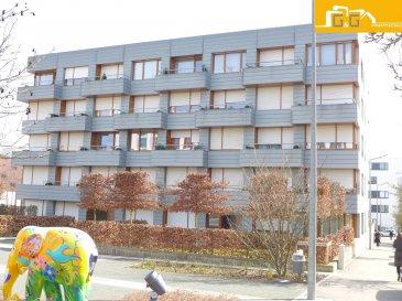 --- LOUE --- --- RENTED ---  Très bel appartement entièrement meublé et équipé au 1er étage d'une nouvelle résidence de 2008 avec ascenseur au Kirchberg.   Ce bien se compose de :   - 1 spacieux living avec accès au balcon de 4,05 m2 - 1 cuisine équipée ouverte - 1 grande chambre à coucher  - 1 salle de bains  - 1 hall d'entrée  - 1 cave privée  - 1 emplacement intérieur  - 1 buanderie commune avec lave/sèche-linge et 1 local commun à vélos  - Animaux sur demande - Internet haut débit, TV et électricité privé inclus dans les 200 € de charges - Libre 01.06.2018  À proximité des transports publics, des commerces et restaurants.  N'attendez plus, contactez-nous par mail sur info@gng.lu ou au 621 366 377.  Découvrez toutes nos offres sur www.gng.lu