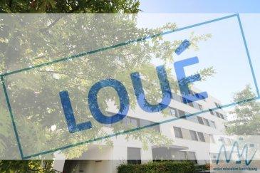 ***LOUE*** ´´active relocation luxembourg'´  vous propose ce magnifique appartement récent complètement meublé de manière contemporaine situé à Luxembourg-Kirchberg. Au 2ème étage, ce bien se compose d' une très belle cuisine équipée ouverte sur le living aux larges baies vitrées donnant sur la terrasse, 2 chambres (1 lit / 2 personnes et 1 lit / 1 personne), 1 salle de bain avec baignoire, 1 WC séparé,   Au sous-sol, une cave privative, une machine à laver et un sèche-linge dans une buanderie commune, 1 emplacement de parking intérieur complètent ce bel ensemble  L'objet se situe au: 10, rue Joseph Leydenbach, L-1977 Luxembourg  Loyer mensuel: 2.450€ Avances charges: 250€ (l'abonnement internet/tv est également inclus dans les charges, sans électricité)  Disponible à partir du 1er octobre 2020  situation idéale à proximité de toutes commodités, Auchan, Cinéma, Hôpital, Philharmonie, Coque et également des institutions européennes et bancaires.  Stationnement avec la vignette de stationnement résidentiel sur le territoire de la Ville de Luxembourg  Bonne connexion en bus et tram  Si vous pensez vendre ou louer votre bien, active relocation luxembourg est à votre service pour vous conseiller au mieux et vous faire profiter de toutes ses compétences en vue de commercialiser votre bien de manière professionnelle et rapide.  +352 270 485 005 info@arlux.lu www.arluximmo.lu