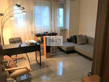 L'agence CIMOLUX vous propose un bel appartement situé à Esch/Alzette au 3ème étage SANS ASCENSEUR proche des commodités et avec une superficie de  /-75m2.  L'appartement comprend un hall d'entrée, un salon/salle à manger, une cuisine équipée séparée, 2 chambres dont une avec dressing, une salle de douche, un débarras, une cave et un grenier aménagé de  /-30m2.  Prix 420.000' (frais d'agence compris 3%   Tva 17 % à la charge du vendeur)  Pour plus d'informations n'hésitez pas à nous contacter on parle français, allemand, luxembourgeois, anglais, portugais et italien.  Pour l'obtention de votre crédit, notre relation avec nos partenaires financiers vous permettront d'avoir les meilleures conditions.     Ref agence :1442028