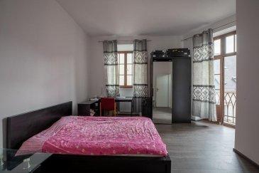 RE/MAX, spécialiste de l\'immobilier à Luxembourg vous propose en location cette grande chambre en colocation meublée dans un immeuble de maître entièrement rénové en 2019, situé au cœur de Esch-sur-Alzette.  Appartement entièrement rénové en 2019, situé au cœur de Esch-sur-Alzette situé au 3ème étage (SANS ASCENSEUR). Cuisine, buanderie,salon et cave partagés.  Informations supplémentaires sur l\'appartement et son emplacement : Le quartier au cœur de la ville est facile d\'accès, places de parking à proximité, grand parking public, bien desservi par les bus. Pas de garage.   Pour tous renseignements ou visite, veuillez contacter  Michèle Jensen au +352 661 233 133 michele.jensen@remax.lu Ref agence : 5096369