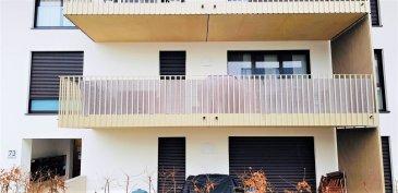En exclusivité chez Active Invest :  Lumineux Appartement avec grand balcon sis au 1 étage d`une résidence de 2017 dans la cité