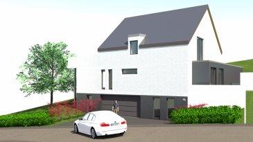 FIS Immobilière vous présente une nouvelle construction clé en mains. Maison de 194.01 habitable située à Baschleiden comprenant  Au rez-de-chaussée un hall d'entrée desservant un grand garage pour 2 voitures, 2 grandes caves, un local technique et un parking extérieur.  A l'étage on retrouve un hall de 10.55M2, 2 chambres de 26.025 et 13.56 M2, une salle de bains de 5.95M2, un WC séparé, un spacieux living de 56.99M2  Le deuxième étage dispose de deux chambre de 12.89M2 et 14.46M2 une salle de bains ainsi qu'une grande suite parentale de 27.36M2 avec une salle de bains privative de 12.67 M2 avec accès sur une terrasse de 47.21M2  Un jardin exposé sud-est.  3 Maisons seront construites sur trois terrains. La maison décrite ci-dessus est la maison Lot n° 2.  N'hésitez pas à nous contacter au +352 621 278 925 pour tout complément d'information