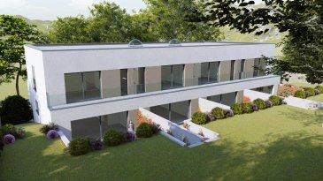 Belardimmo vous propose un projet neuf situé:<br><br>Résidence « PLEIN SUD »<br>37, rue de Blaschette<br>L-7343 LORENTZWEILER<br><br>Nouveau projet de construction de 2 maisons bi-familiales à Lorentzweiler, sur un terrain de 10 ares 16 ca, proche de toutes commodités et des grands axes routiers.<br><br>Le duplex lot B  mitoyen  a une surface habitable   118m² se compose comme suit :<br><br>Au Sous Sol:<br><br>Garage commun avec 8 emplacements au total, caves individuelles entre 5,45 m2 et 5,90 m2 / Chaufferie commune / Buanderie commune / Local poubelle commun / Local technique<br><br>Au RDC, avec accès sur la terrasse et le jardin :<br><br>Salon/salle-à-manger et cuisine ouverte  environ 60m²<br>Hall d\'entrée de 1,70 m2<br>WC séparé de 1,35 m2<br>Terrasse entre environ 24m²<br>Jardin  environ 50 m2<br><br>Au 1er étage, avec accès à un balcon à l\'avant et à l\'arrière :<br><br>Chambre 1 environ 11m²<br>Chambre 2 environ 10m²<br>Chambre 3  avec une salle de bain privative environ 18m²<br>Une salle de bain<br>Balcon à l\'avant environ 6m²<br>Balcon à l\'arrière environ 6m²<br><br><br>Les travaux débuteront au printemps 2021.<br><br>Le prix est avec TVA réduite 3% et 2 emplacements parkings  y sont inclus aussi