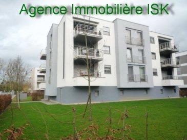 Magnifique appartement partiellement meublé à Mondorf les Bains à 2 pas du Casino et du Parc Thermal avec grand living avec terrasse, 2 chambres à coucher, belle salle de bains , cuisine équipée séparée, WC, garage.    Ref agence : 917080