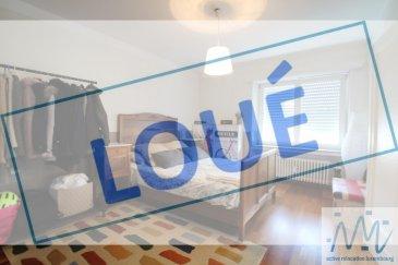 ***LOUE*** ''active relocation luxembourg'' vous propose ce charmant appartement au 2ème étage complètement meublé dans le Quartier Merl/Hollerich.  Comprenant un hall d'entrée, une cuisine équipée séparé, un grand living, une chambre à coucher avec dressing attenant, une salle de douche et un WC séparé.  Ce bien est complété par une cave privative et un buanderie avec machine à laver et sèche-linge   Loyer mensuel : 1.450 euros Avances charges : 150 euros Garantie: 4.350 euros Disponibilité: fin Juillet (à convenir)  Adresse du bien:  5, rue Alphonse Munchen, L-2172 Luxembourg  Parc de Merl à 650m Arrêt de Bus à 100m Restaurants et différents commerces dans les alentours Luxembourg-Centre à 1.2km Kirchberg à 6km  Si vous pensez vendre ou louer votre bien, active relocation luxembourg est à votre service pour vous conseiller au mieux et vous faire profiter de toutes ses compétences en vue de commercialiser votre bien de manière professionnelle et rapide.  +352 270 485 005 info@arlux.lu www.arluximmo.lu