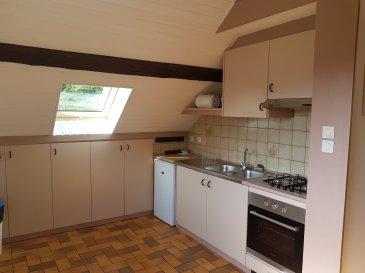 Au dernier étage d\'une petite copropriété calme, appartement F3 rénové avec cuisine équipée ouverte sur séjour, 2 chambres avec placard, salle d\'eau, wc séparés. Parking. Classe énergie : en cours
