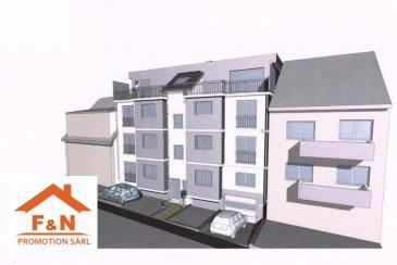 Nouvelle résidence à Howald  Bel penthouse, d'une surface de +-140m2 au 3ème étage, dans une petite résidence de 7 unités situé à Howald, proche de toutes commodités, à proximité du centre, et la gare est à 2km.  Ce bien dispose d'un hall d'entré, living avec une cuisine ouverte, 3 chambres à coucher, salle de bain, WC séparée, et 3 balcon de 45m2.