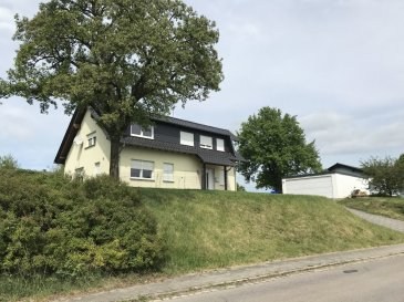 220 sqm / 2368 sqf single house for rent in 54657 Gindorf, Hauptstrasse 2   Price: 1.750 € plus utilities   5 x bedrooms, (master bedroom with closet)  1 x living open plan with dining room, with exit to the backyard and terrace  1 x build in kitchen,  4 x fully master bathrooms,  1 x laundry room,  1 x front, and backyard,  1 x double garage (not on the images at this time).   -Fast internet available,  -Pets are allowed,  -USAF School bus route available.   Utilities:  Heating system by gas: 300 € average payment, final annual invoice  Water/waste-water: 45 € per person monthly average payment, annual final invoice.  Garbage disposal 25 € monthly.  Electricity (innogy): Own contract with local provider in this case Innogy, about 150 € monthly average payment, annual final invoice!  Phone/Internet: Own contract with local provider like Telecom, flatrate about 39 € monthly payment.  Double garage: 100 € monthly payment   The house was built and planed by US Americans and meet most likely your prefers. Gindorf is a medium town 10 min roadway from SPAB.   Address: 54657 Gindorf, Hauptstraße 2  People with a long rental period are preferred.  When you want to schedule an viewing appointment, please contact me any time.   Have a great day!
