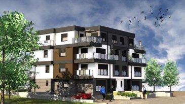 Réservé!  En vente deux nouvelles résidences.  Chaque résidence dispose de 3 appartements lumineux et un penthouse.  Vous pouvez dès maintenant réserver votre appartement de rêve dans une des deux résidences !  Caractéristiques de l'appartement concerné:  - Appartement au Rez-de-Jardin (2 chambres)  de 96,47 m2 avec grande terrasse de 40m2 et un jardin privatif de 162.5m2   Autres Appartements en vente:  Résidence A :  - Appartement au Rez-de-Jardin (2 chambres) de 95,7 m2 avec grande terrasse de 47m2 et un jardin privatif de 125m2  - Appartement au 1er étage (3 chambres)  à 110.935m2 avec deux balcons (ensemble 15.35m2)  - Appartement au 2ième étage (3 chambres)  à 115.35m2 avec deux balcons (ensemble 18.35m2)  - Penthouse (2 chambres)  à 99.21m2 avec deux balcons (ensemble 22.36m2)   Résidence B :  - Appartement (3 chambres) au 1er étage à 109.93m2 avec balcon (10m2)  - Appartement (3 chambres)  au 2ième étage à 111.95m2 avec deux  balcons (ensemble 16.2m2)  - Penthouse (2 chambres)  à 95.52m2 avec deux balcons (ensemble 20.9m2)    Vente en futur état d'achèvement (VEFA)  Les deux résidences disposent d'un grand sous-sol commun, avec 12 emplacements, caves, buanderie commune, local à poubelles, local technique, local à vélos etc  Actuellement, il est encore possible de changer les dispositions  des intérieurs des appartements, c'est-à-dire tailles des différents pièces ( living/ chambres/SBD/SDD) etc !!!  Les appartements/penthouses seront livrés 'clés en main'.   De nombreuses options et possibilités de personnalisation sont offertes pour chaque logement afin de permettre à chacun de définir l'ambiance, les couleurs ou encore les matériaux qui correspondent à ses envies.   L'ensemble de ces paramètres sont définis dans le cahier des charges de la construction, selon le type de logement envisagé.   Chaque lot dispose d'au moins une terrasse, d'un balcon et/ou d'un jardin privatif.  Spécifiés techniques :  - Ascenseur  - Ventilation contrôlée double flux  - Chauffa