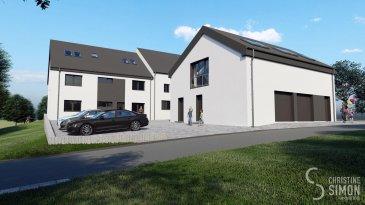 -- FR --  La résidence 'A JAAS' se situe à Greisch, commune de Hobscheid dans une situation ensoleillée et verdoyante à côté de Tuntange. Elle profite à la fois du calme de la région ainsi que de la proximité de Mersch (15min) et avec toutes les commodités quotidiennes à proximité immédiate. (Pharmacies, écoles, restaurants, centre commerciaux etc)  La résidence se dispose de 6 appartements de 1-2 chambres, d'une superficie de 50.41 m2-74.71 m2. Tous les appartements ont à parking extérieur dans le prix inclus.  Tous les prix annoncés s'entendent à 3% TVA, sujet à une autorisation par l'administration de l'enregistrement et des domaines.  Garantie décennale, Garantie d'achèvement et Garantie TRC.  Pour toutes informations supplémentaires, n'hésitez pas à nous appeler : 621189059 Ref agence :Appartement 1-1 chambre