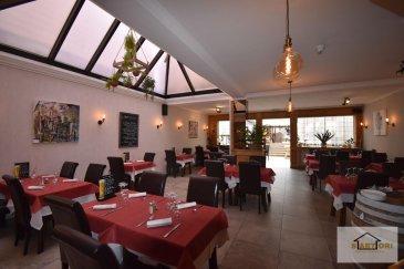 Mr. SARTORI ( 352) conseiller immobilier de l'agence immobilière SARTORI de Bettembourg, a l'honneur de vous présenter ce magnifique restaurant ( fonds de commerce) situé idéalement à Bascharage dans la rue principale .   Le restaurant dispose 150 à 180 couverts, 90 couverts intérieurs et 60 couverts extérieurs.   Une énorme cuisine avec tout ce qu'il faut pour réaliser tout type de plat . ( À voir)   Au sous-sol vous disposez des Wc HOMMES et FEMMES, une chambre froide, une énorme réserve, vestiaire et 5 emplacements.  Information importante :   - 220m² = restaurant intérieur avec vérandas  - 75m² = cuisine, chambre froide, vérandas  - 65m² = terrasse couverte  - 95m² = terrasse extérieur  Ref agence :521