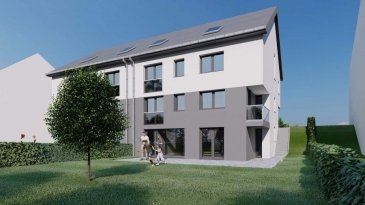 Maison Lot N°45 , une future construction 'clé en main', à Kaundorf sis sur un terrain (environ 3,49 ares) sur lequel elle est bâtie et doté d'une excellente orientation. Érigée dans un îlot de verdure dans la rue « Cité an der Uecht », à proximité du Lac de la Haute Sûre.   Cette maison d'une surface habitable  de  /-159m2  sera conçue dans une classe énergétique A/A et se composera comme suit :    - Rez-de-Chaussée : l'entrée principale avec accès vers les niveaux supérieurs, garage pouvant accueillir deux voitures de  /-37m2, une chambre à coucher de  /- 13m2, bureau de  /-10m2, et une salle de bain de  /-6m2.   - Rez-de-jardin: une cuisine ouvert donnant sur un spacieux séjour/salle à manger de  /- 40m2 avec grandes baies vitrées en façade arrière donnant vers une terrasse de  /- 37m2 et jardin, et espace cave et local technique.   - 1er étage: un hall de nuit et escalier, 3 chambres à coucher, une avec salle de bain privative et dressing, et une salle de douche avec WC.  Grenier non habitable.  Prix affiché estimé avec TVA 3% comprise.  Kaundorf est une section de la commune luxembourgeoise du Lac de la Haute-Sûre située dans le canton de Wiltz. A 5 minutes du centre commercial KNAUF. A 5 minutes de Wiltz ( CNS, Hôpital, Lycée du nord Banques, Poste etc.... ). Et 20 minutes de Ettelbruck. Et 50 minutes du Kirchberg.  Pour tous renseignements complémentaires ou une visite (visites également possibles le samedi sur rdv), veuillez contacter le 691 850 805. Ref agence :199