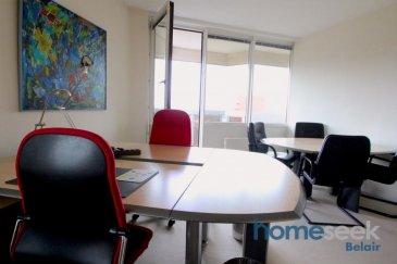 Homeseek Belair et Janette (691 111 623) vous présente 2 bureaux d'une surface de 19 m2 à 5 km du centre-ville, dans un cadre naturel verdoyant, offrant calme et tranquillité.   Le local met à votre disposition:  une salle de réunion, une cuisine équipée, un WC, du mobilier de qualité, vous  offre un service secrétariat de base (back-up téléphonique, transfert d'appel, distribution du courriel, etc),  l'accès à l'internet haut débit, l'assurance (sauf votre équipement informatique), le nettoyage quotidien de votre bureau et vous permet de stationner votre véhicule gratuitement sur le parking extérieur.  Les charges comprennent électricité, chauffage et eau  Pour tous renseignements supplémentaires ou pour convenir d'une visite, n'hésitez pas à prendre contacte au numéro 691 111 623 ou par mail jdacosta@homeseek.lu   Ref agence :4920558-BL-JDC