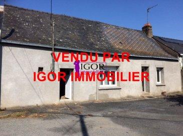 Maison Derval.. TROP TARD VENDU PAR IGOR IMMOBILIER<br/>Contact : Igor<br/>Tél : 02 40 55 39 68 dont 13.33 % honoraires TTC à la charge de l\'acquéreur.