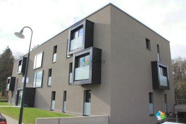 -- FR --  Disponible à partir du 1er AVRIL   A louer bel appartement avec 2 chambres de ± 99m2 à Junglinster, 1 beim Park, Résidence Dali « in den Aessen » (2014 - BBB)   Il se situe au 1er étage et se compose : -d'une cuisine équipée semi-ouverte (±11m2) -d'une pièce à vivre (±40m2) avec un balcon de ± 8m2 -d'une chambre parentale (± 21,5m2) -d'une 2ème chambre (± 11m2) -un WC hôtes -une salle de bains avec double vasque, baignoire et WC -une cave -2 parkings d'intérieur  -une buanderie commune  Loyer:     1.650 eur Charges: 250 eur Caution:  3300 eur Bail:         1 an  Frais d'agence 1.650   tva  Pour tous renseignements  ou pour une visite veuillez nous contacter par téléphone au ( 352) 621 43 10 04 ou ( 352) 26 19 00 86 ou par mail : info@icasa.lu  Découvrez tous nos biens sur www.icasa.lu. Souhaitez-vous louer ou vendre votre bien, profitez de notre service de qualité. Estimation rapide et gratuite.  Agence iCasa Bertrange BELACCHI Michel    -- EN --  Available from April 1st,   For rent nice apartment with 2 bedrooms, ± 99m2, in Junglinster, 1 beim Park, Residence Dali