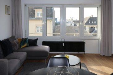 Soho Real Estate propose à la location un appartement traversant de deux chambres à coucher et d'une surface de 50 m2 situé dans une copropriété avec ascenseur récemment rénovée. Orientée nord-sud, sa disposition favorise le bien-être à l'intérieur de l'habitation qui baigne dans la lumière naturelle tout au long de la journée. L'ensemble se caractérise tant par le soin apporté au choix des matériaux utilisés, que par l'effort d'optimisation du moindre espace. Dans le contexte actuel du développement durable il a été opté pour une construction au standard « basse consommation d'énergie », répondant à la classe d'efficience énergétique « D ».  L'unité est située dans le quartier de la Gare, à proximité immédiate de la Gare centrale et de la Ville Haute, et disposant d'une excellente connexion au réseau des transports publics. Mêlant logements, bureaux, commerces et loisirs, la Gare s'affiche comme un quartier mixte. Des aires de jeux et un jardin communautaire complètent une offre diversifiée de loisirs se composant notamment d'un centre culturel et de nombreuses infrastructures sportives. Une multitude de commerces de proximité et une offre variée de restauration permettent de répondre au mieux aux attentes et besoins du quotidien.   Pour toutes informations complémentaires on reste à votre entière disposition par téléphone (+352 661 349 405 ou au +352 661 140 857) et par email (sabek@sohoimmo.lu).  ---------------------------------------------------------------------------------------- Soho Real Estate offers for rent a crossing two bedrooms apartment of 50 m2 located in a recently renovated condominium with elevator. Oriented north-south, ithe apartment is bathed in natural light throughout the day. The ensemble is characterized both by the care taken in the choice of materials used, and by the effort to optimize the smallest space. In the current context of sustainable development, it has been opted for a construction to the