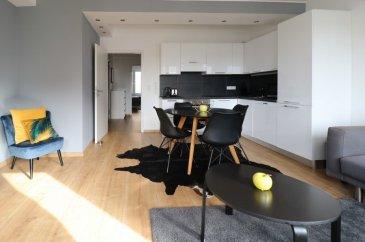 Soho Real Estate propose à la location un appartement traversant de deux chambres à coucher et d'une surface de 50 m2 situé dans une copropriété avec ascenseur récemment rénovée. Orientée nord-sud, sa disposition favorise le bien-être à l'intérieur de l'habitation qui baigne dans la lumière naturelle tout au long de la journée. L'ensemble se caractérise tant par le soin apporté au choix des matériaux utilisés, que par l'effort d'optimisation du moindre espace. Dans le contexte actuel du développement durable il a été opté pour une construction au standard « basse consommation d'énergie », répondant à la classe d'efficience énergétique « D ».  L'unité est située dans le quartier de la Gare, à proximité immédiate de la Gare centrale et de la Ville Haute, et disposant d'une excellente connexion au réseau des transports publics. Mêlant logements, bureaux, commerces et loisirs, la Gare s'affiche comme un quartier mixte. Des aires de jeux et un jardin communautaire complètent une offre diversifiée de loisirs se composant notamment d'un centre culturel et de nombreuses infrastructures sportives. Une multitude de commerces de proximité et une offre variée de restauration permettent de répondre au mieux aux attentes et besoins du quotidien.   Pour toutes informations complémentaires on reste à votre entière disposition par téléphone au +352 661 349 405 ou par email à jose@sohoimmo.lu et edwin@sohoimmo.lu. ---------------------------------------------------------------------------------------- Soho Real Estate offers for rent a crossing two bedrooms apartment of 50 m2 located in a recently renovated condominium with elevator. Oriented north-south, ithe apartment is bathed in natural light throughout the day. The ensemble is characterized both by the care taken in the choice of materials used, and by the effort to optimize the smallest space. In the current context of sustainable development, it has been opted for a construction to the