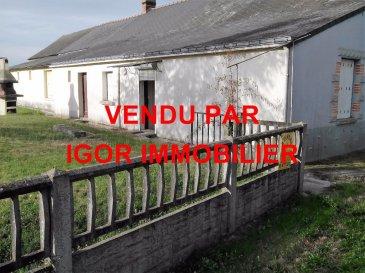 Maison en campagne 2 chambres. TROP TARD VENDU PAR IGOR IMMOBILIER<br/>