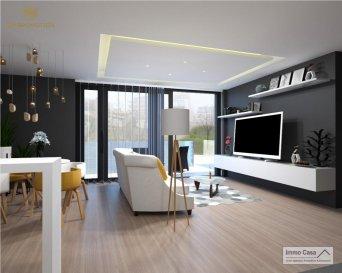 *** 30% Dejá Reservées***  Immo Casa vous propose une nouvelle résidence située dans le quartier du Kiem à Luxembourg-Neudorf offrant des prestations de très haut standing.  Trois immeubles de 3 étages composé de 9 logements dont 3 penthouses.  Les appartements bénéficieront de 2 orientations ce qui permettra une luminosité optimale puisqu\'ils seront traversants.  Nous vous proposons par exemple ce logement comprenant une cuisine ouverte sur le salon donnant accès sur une terrasse (15m2), 2 chambres à coucher, deux salles de douche, un wc séparé, une cave et un jardin privatif (76m2). La conception à l\'arrière du bâtiment permettra aux résidents d\'accéder à leur jardin privatif.  Les prix affichés avec la TVA de 3%  Possibilité d\'acquérir une place de stationnement intérieur à 55 000 € HTVA.  Pour d\'autres informations veuillez contacter l\'agence. Ref agence :1906558