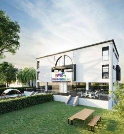 Immo Color Sàrl, a le plaisir de vous proposer à la vente en future achèvement (VEFA) un appartement de 79.92 m² situé à Pontpierre (commun de Mondercange).  Appartement situé au 2er étage (appartement N°5) Prix: 695.000 euros (TVA 3% sous réserve d'acceptation du bureau de l'enregistrement)  Les atouts de cet appartement sont les suivants: 2 chambres à coucher avec dressing, 1 salle de bain, 1 salle de douche, salon séjour / cuisine, terrasse de 21.92m² ainsi qu'un emplacement intérieur et un extérieur font partie de cette offre. Finitions haute de gamme, triple vitrage volet électriques, passeport énergétique A-B.  Situation très calme, 19 rue des Forges à Pontpierre  Sentez vous libre d'effectuer des modifications sur le plan en ce qui concerne l'intérieur de l'appartement.  N'hésitez pas à nous contacter pour avoir plus d'informations, ou commandez le cahier des charges ainsi que les plans sur www.immocolor.lu