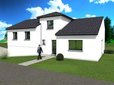 A Courcelles-Chaussy, hors lotissement, nous vous proposons cette maison à étage avec sous-sol. Au rez-de-chaussée, vous bénéficiez d'un vaste et lumineux, salon/séjour/cuisine de 57 m2 donnant un accès direct à votre jardin.  De 2 chambres spacieuses, d'un bureau d'une salle de bain et d'un WC séparé. A l'étage, une suite parentale avec salle de bain privative et dressing. Au sous-sol, le garage peut accueillir 2 voitures et un espace buanderie.  Aussi, ce modèle de maison est entièrement personnalisable comme l'ensemble de nos créations.