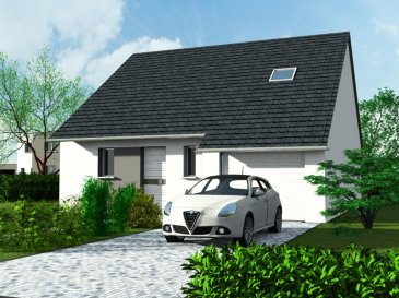 Devenez propriétaire pour moins de 900 euros|mois!  Nous vous proposons ce modèle de maison type AZALEE, avec un étage, composée d'une vaste pièce de vie avec cuisine américaine (35,21m2), de 3 chambres (1 au RDC et 2 à l'étage), d'une salle de bain et une salle d'eau, d'un WC séparé, d'un garage de 17,77m2, pour une surface habitable de 90m2.  Chauffage gaz au sol et kit photovoltaïque (générateur d'électricité). Il s'agit d'un modèle prêt à décorer.  Le modèle AZALEE, très lumineux grâce à ses grandes ouvertures, bénéficie de nombreux atouts, avec notamment une suite parentale au rez de chaussée. Deux chambres et une salle de bain composent l'étage, idéal pour l'espace nuit des enfants.  Lotissement de plusieurs parcelles, de 271 à 729m2, de 45000 euros à 76450 euros. Contactez-nous pour connaître leurs disponibilités.  Nous proposons d'autres types de modèles de maisons de style traditionnel ou contemporain, de 65 à 149m2. Pour en savoir plus, contactez: Corinne AUBURTIN au 06 35 48 37 12.