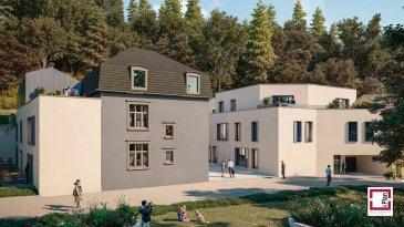 Intégrée à une nouvelle résidence à Luxembourg-Neudorf, maison unifamiliale d'une surface de 156 m2 avec un espace