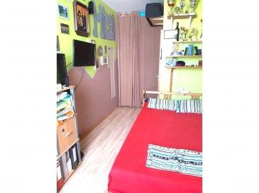 Immo Nordstrooss vous propose un appartement d\'une Surface habitable de +/- 98,83 m² dans une résidence de 2002 situé à Muhlenbach.  Il se compose comme suit : - hall d\'entrée de +/-8m²  - Salon de +/- 25m² - une cuisine équipée de +/-11m²  - second hall de +/-5m² donnant accès à 3 chambres - 3 chambres de +/- 14m², +/- 12 m2, +/13m² - une salle de bain de +/- 4m² (baignoire, lavabo et fenêtre) - un wc séparé - un débarras de +/- 2m²   Au sous-sol:  - deux caves privatives - une buanderie en commun - un emplacement de parking - aire de jeux en commun pour les enfants  Généralité : - Double vitrage - Chauffage au pellet - Toiture en zinc - Commerces plus proche: Post, épicerie, Match, Cactus Lidl - Bus Lux Ville - Écoles et crèches à proximité   Pour plus de renseignements veuillez nous contacter au 691 450 317. Ref agence : 446