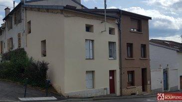 MALZEVILLE IMMEUBLE DE RAPPORT A VENDRE .  NANCY NORD/EST. Sur la commune de MALZEVILLE. Immeuble de rapport en bon état. L\'ensemble est actuellement loué. Comprenant un STUDIO en rez-de-chaussée et un APPARTEMENT 3 PIECES EN DUPLEX.<br> Le studio est loué 325,00 EUR hors charges par mois et l\'appartement duplex est loué 560,00 EUR par mois hors charges. Soit 10.620 EUR par an hors charges. Idéal pour un premier investissement locatif. Le studio offre 31,94m2 habitable : séjour de 20,25m2, kitchenette, salle de bains avec WC et rangement. L\'appartement duplex offre 63,41m2 habitable: séjour de 22,26m2, deux chambres (14,72m2 et 14,35m2), cuisine, salle de bain avec WC et dégagement. Plus de renseignent en agence. www.agencedeboufflers.fr<br>